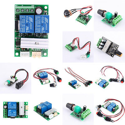 Universal Motor Speed Controller Switch Function Variable Speed Regulator 3A-30A