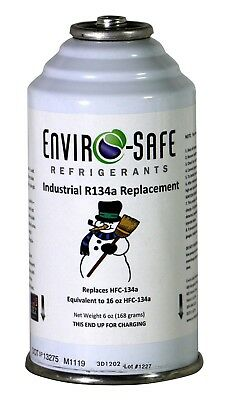 Industrial R134a Replacement Refrigerant 6 ounce Can Equivalent 16 oz 134a 1035A