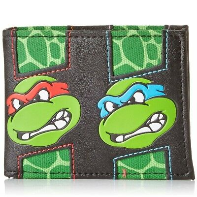 NEW OFFICIAL Teenage Mutant Ninja Turtles TMNT Classic Retro Boys Mens Wallet