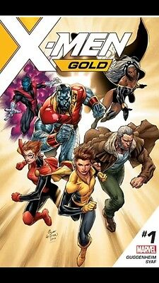 Marvel X-Men Gold #1 Comic Controversial First Print Edition Syaf