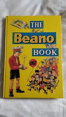 Beano book 1967 Collectors condition. Blemish free. Unclipped. Spine A1