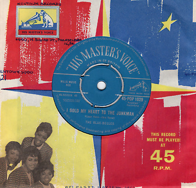 Doo Wop/50s R n' R-THE BLUE-BELLES-I SOLD MY HEART TO THE JUNKMAN-H.M.V.