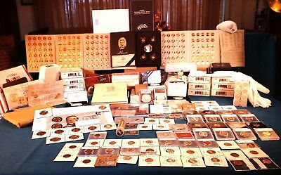 2009 SILVER proof sets and Lincoln Cent Collection Bicentennial Extravaganza