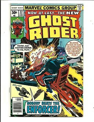 GHOST RIDER (Vol.1) # 22 (Cents Issue, FEB 1977), VF+