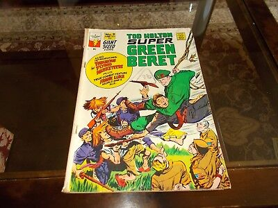 Comic Ted Holton Super Green Beret 1967