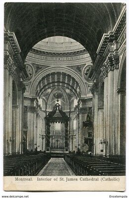CPA-Carte postale -Canada - Montreal - Interior of St James Cathedral - 1907