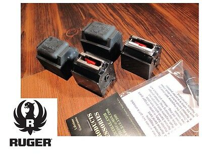 2 Pack Ruger 10/22 Magazines 22 LR BX-1 10 RD Clips 90451 W/ CAPS & FREE Goodie