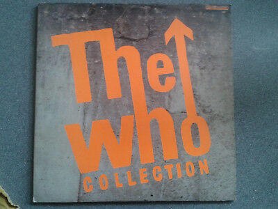 The Who - Collection Uk Double Vinyl Lp Polydor Ex