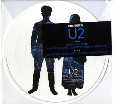 "U2 - LIGHT OF HOME 12"" PICTURE DISC Exclusive Limited Edition Mint RSD 2018"