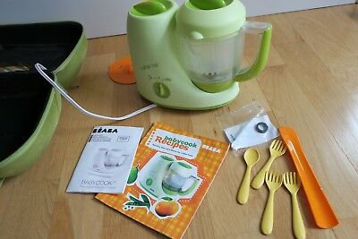BEABA Babycook Sorbet With Carry Case and Utensils