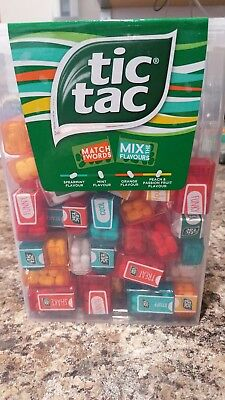tic tac spender box with 60 mini boxes each 3 9 grams liliput