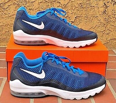 great fit factory price picked up NIKE MENS AIR Max Invigor SE Running Shoes Navy Blue/White ...