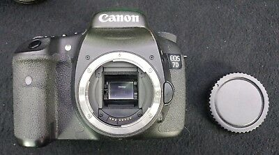 Canon EOS 7D 18.0MP Digital SLR Camera - Black (Body Only) - USED