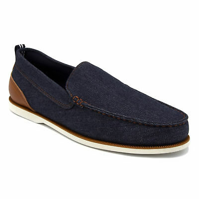 ed012a33969 NAUTICA MENS BOAT Deck Shoes Loafers Slip-on Shoe. SIZE 10. Woven ...