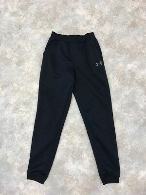 Under Armour Boys Black Strom 1 Loose Athletic Sweatpants  Sz Youth L