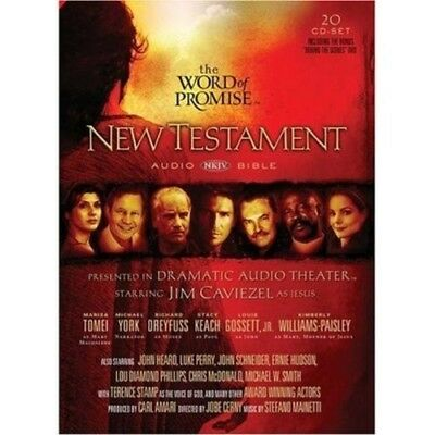 The Word of Promise: New Testament Audio Bible (Audio cd) New