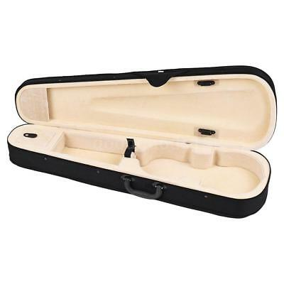 Professional 4/4 Full Size Violin Triangle Shape Case Box Hard & Super R7M7