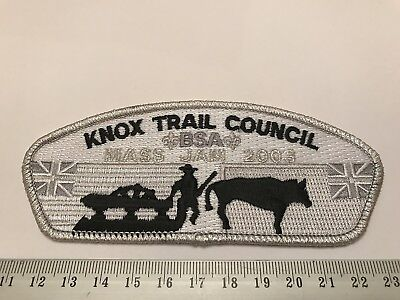 Knox Trail Council Massachusetts SA9 2003 Jam BSA CSP Boy Scouts of America