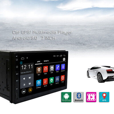 New 2 DIN 7 inch 1024x600 Android 8.0 Car Stereo Radio Central Multimidia Player