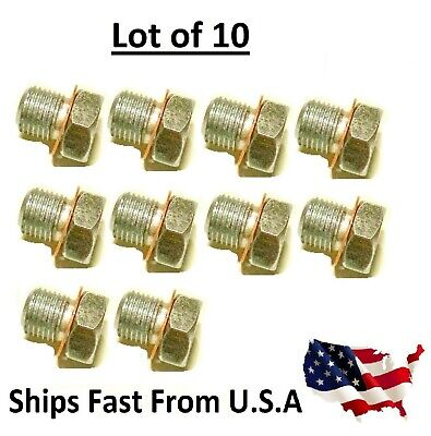 10x DECOMPRESSION VALVE PLUG FITS STIHL, PARTNER, HUSQVARNA, MAKITA