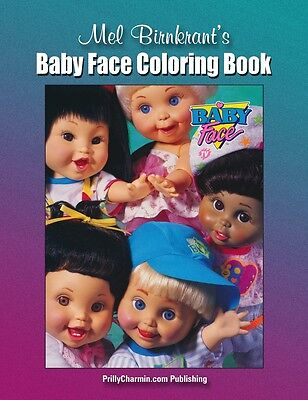 COLORING BOOK Mel Birnkrant's Baby Face Coloring Book ** Prilly Exclusive