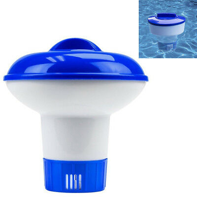 Swimming Pool Pill Case Fits Floating Chemical Tablet Disinfect Dispenser Tool