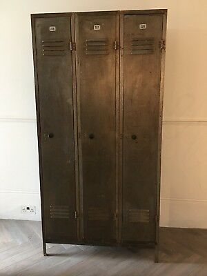 Vintage Metal Lockers