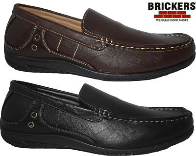 Mens New Casual Slip On Designer Loafers Boat Deck Mocassin Driving Shoes Sizes
