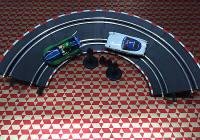 Steep Turns Set Carrera GO/Digital 143 Car Race Track Rail NEW