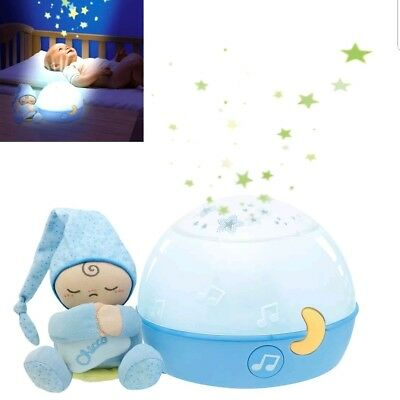 Chicco Goodnight Stars Projector Night Light with Music (blue)