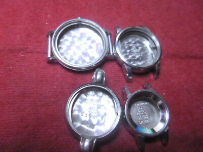 Lot of wrist cases Longines and omega, 080