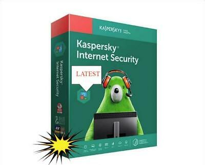 Kaspersky INTERNET SECURITY 2018-2019 3 PC 1 Year Window - License Key ONLY DD