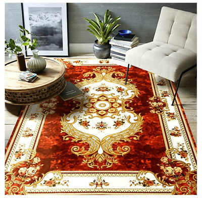 European Luxury Style Living Room Carpets Big Area Decoration Mats Bedroom Rugs