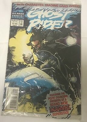 Ghost Rider comic . Annual 1 Sealed Package .