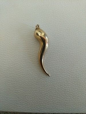 9ct gold horn of plenty pendant 3000 picclick uk 9ct gold horn of plenty pendant mozeypictures Images