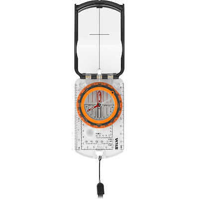 Silva Ranger 2.0 Compass with Built-In Clinometer Azimuth with Black/Orange B...