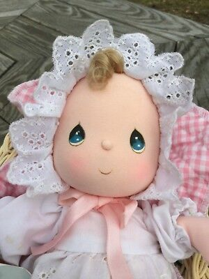 1987 Applause Precious Moments Musical Cloth Doll Sissy #16502