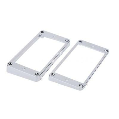 Chrome-Plated Plastic Guitar Pickup Frame Mounting Ring for LP Guitar Silver  sc 1 st  PicClick AU & CHROME-PLATED PLASTIC GUITAR Pickup Frame Mounting Ring for LP ...