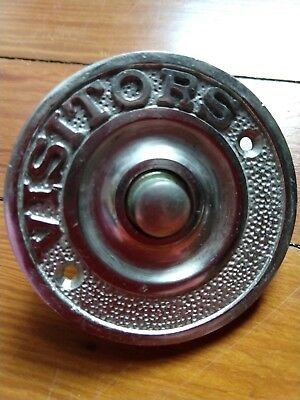 New never used Restoration Hardware Visitor Doorbell Plate/Cover