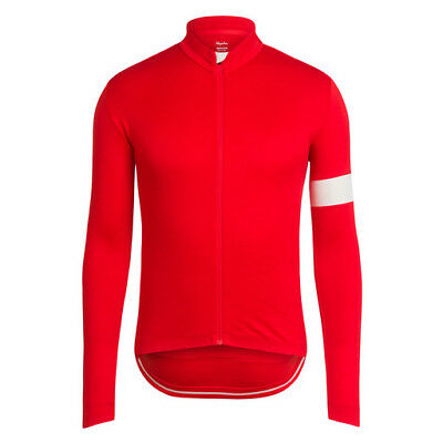 Rapha Red Classic Long Sleeve Jersey II. Size Small. BNWT.