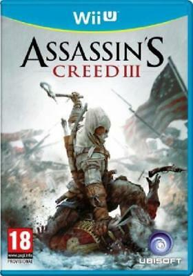 ASSASSINS CREED 3 NINTENDO WII U - MINT - Super Fast Delivery