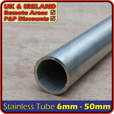 Stainless Steel Round Tube ║ 6mm - 50mm diameter ║ circular section,pipe,tubing