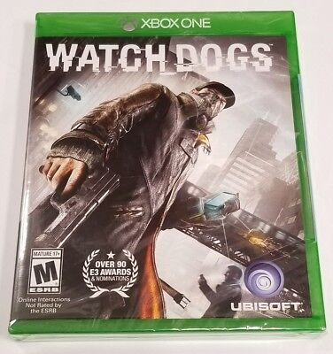 Watch Dogs for Microsoft XBOX ONE X1 XB1