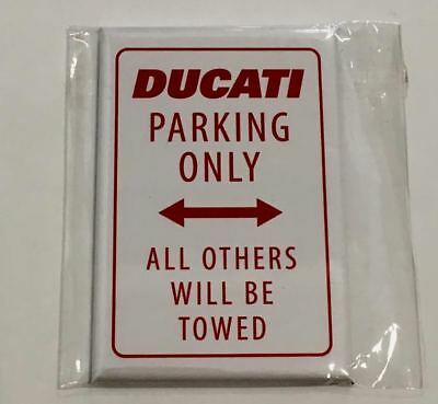 Genuine Ducati Parking Only Magnet 987696711 Ducati Performance NEW  in