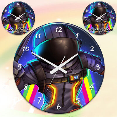 Fortnite printed teaching wall clock for office living for Chair in fortnite