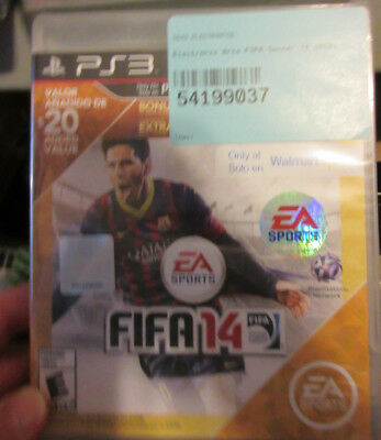 FIFA 14 SOCCER (Sony PlayStation 3) PS3 WALMART EXCLUSIVE