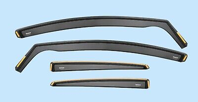 Wind Deflectors for NISSAN QASHQAI MK1 2007-2013 4-pc ISPEED Tinted Sun Visors