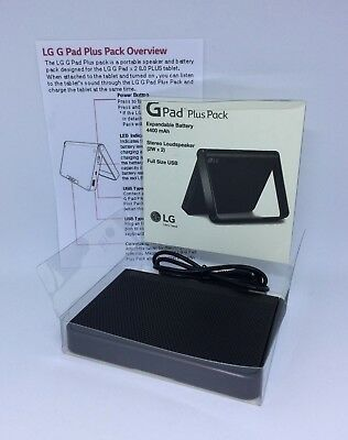 #321 LG G Pad Plus Pack SDP-P100 Speaker & Charger- Boxed w/cable & instructions