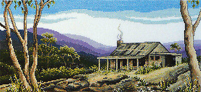 'Mountain Ranges' - My Country Cross Stitch Chart by Country Threads
