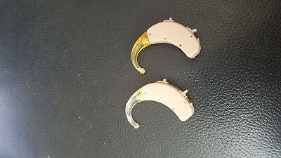 PRE OWNED A PAIR OF SIEMENS Music-BTE  HEARING AIDS